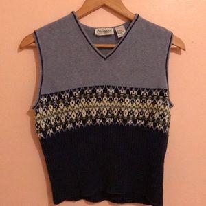 Vintage pattern vest